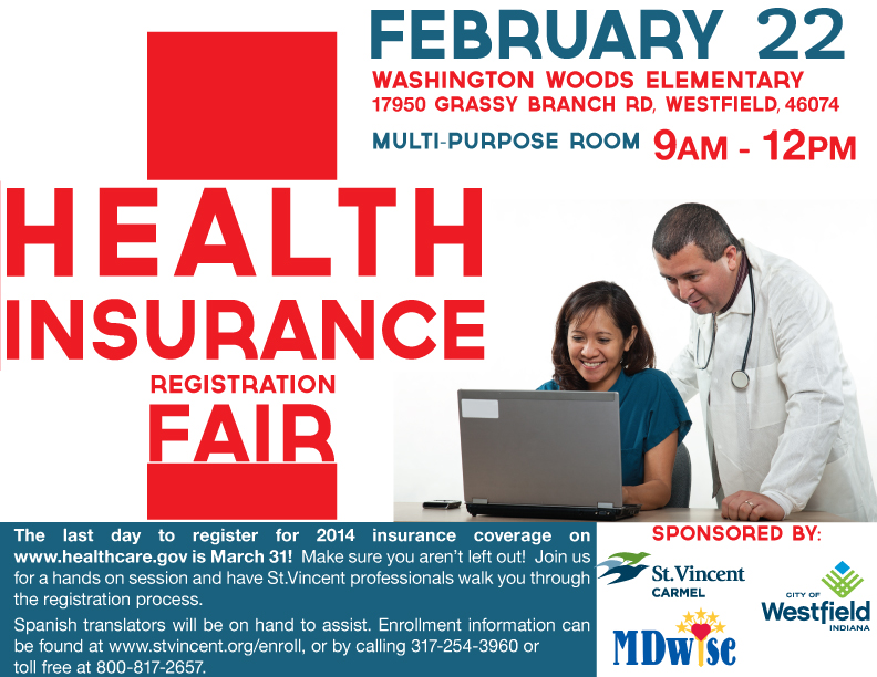 Photo for: Health Insurance Registration Fair Helping the Underinsured