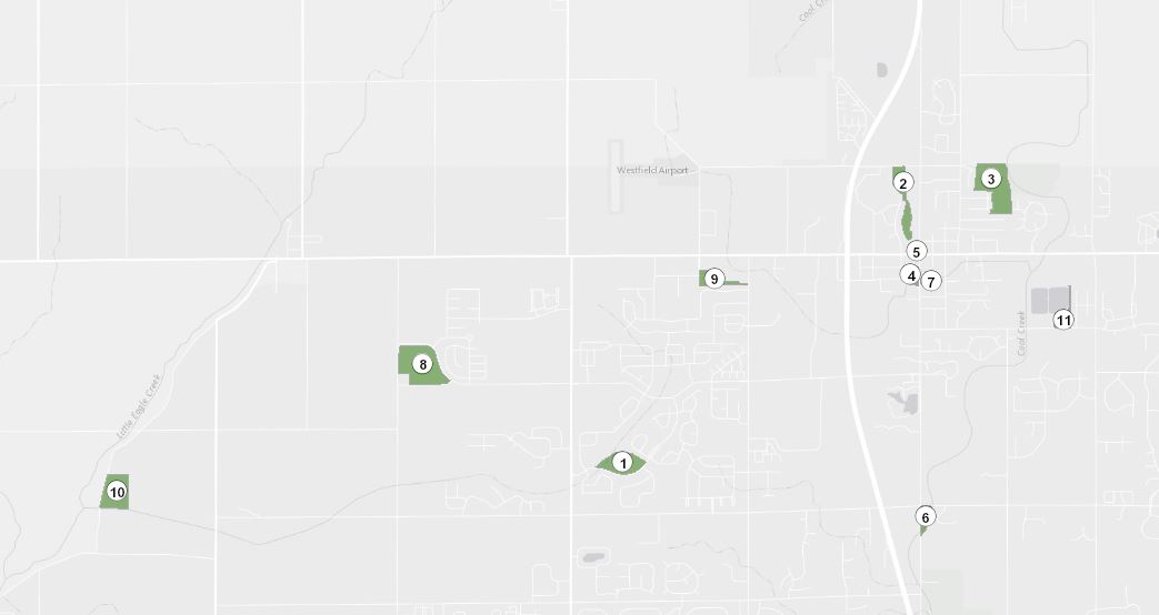 Parks Map Button