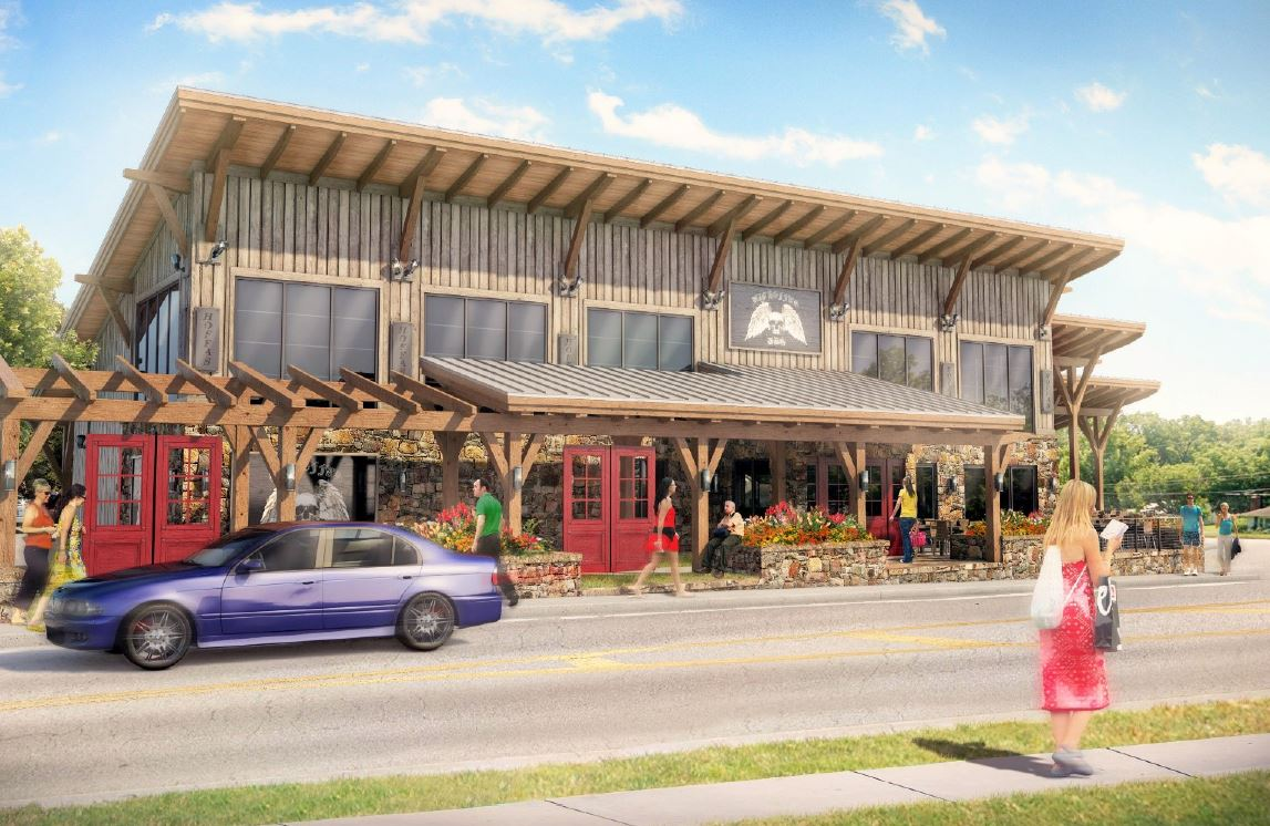 Photo for: CITY COUNCIL APPROVES PLANS FOR NEW BIG HOFFA'S RESTAURANT