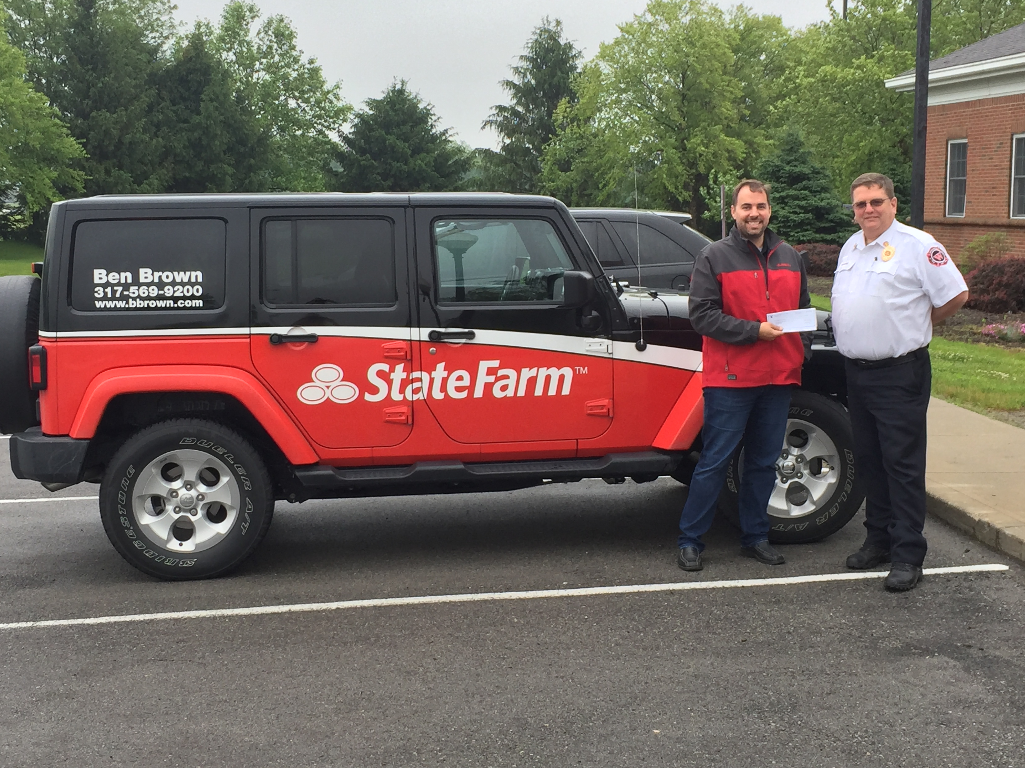 Photo for: WESTFIELD FIRE DEPARTMENT RECEIVES A GRANT FROM STATE FARM