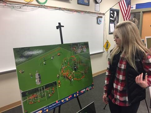 Photo for: PARKS STAFF AND WESTFIELD SCHOOLS WORK TOGETHER FOR NEW PARK DESIGN
