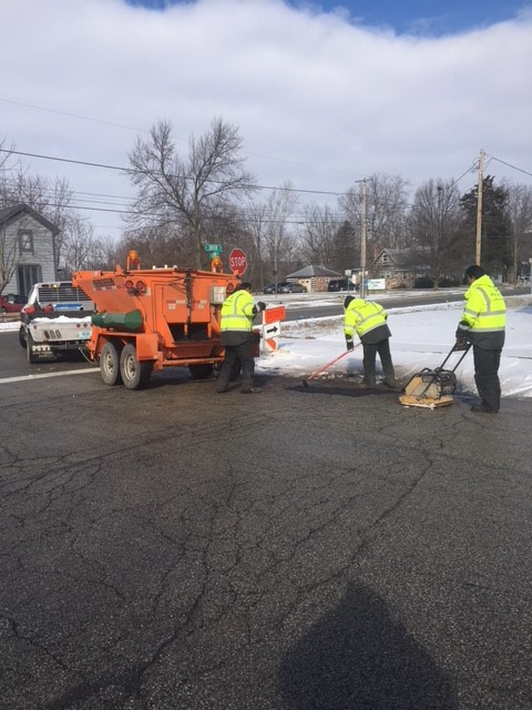 Photo for: WESTFIELD DPW GOES ON POTHOLE OFFENSIVE