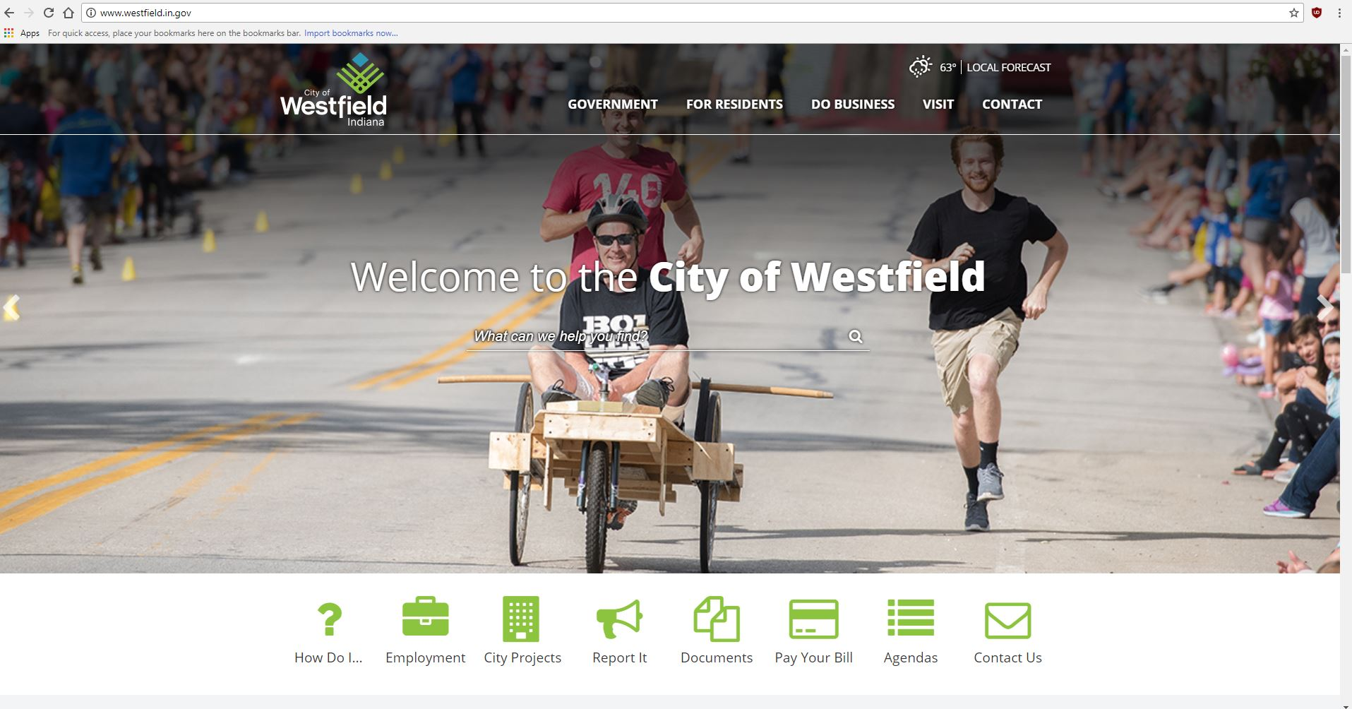 Photo for: WESTFIELD LAUNCHES REDESIGNED CITY WEBSITE