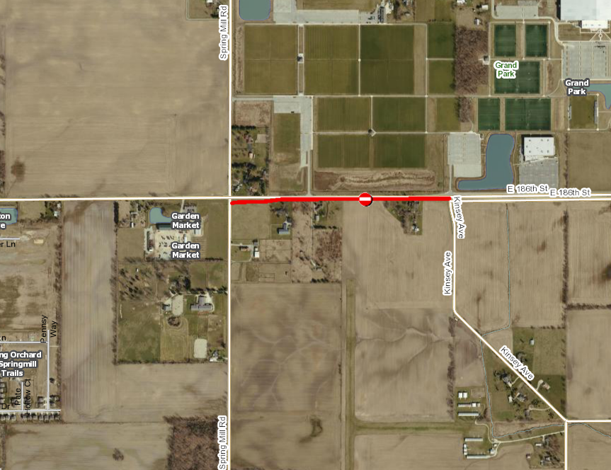 186th Road Closure