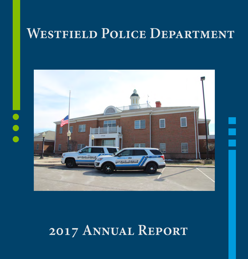 Photo for: PRESS RELEASE: Westfield Police Department Releases 2017 Annual Report