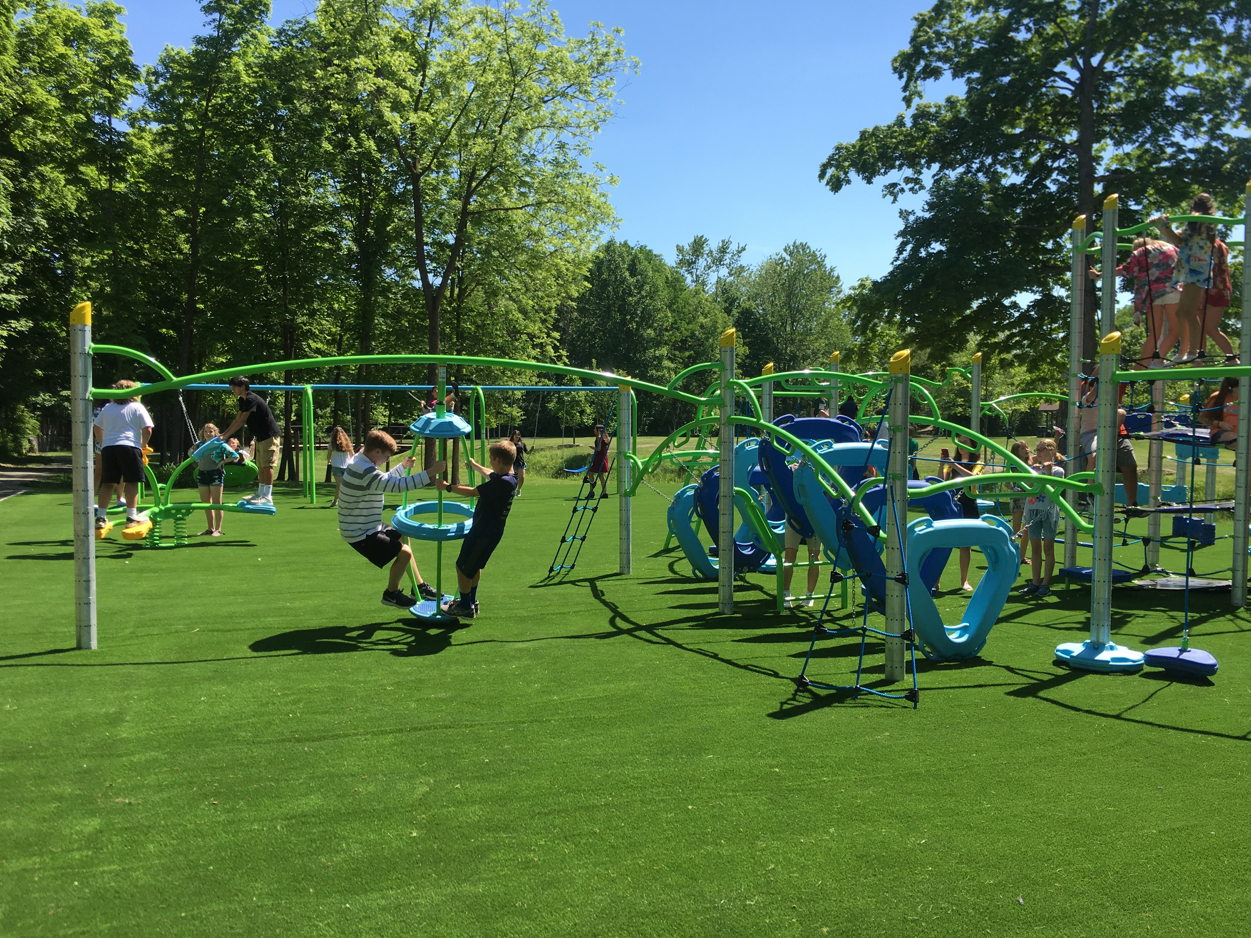 Photo for: PRESS RELEASE: Student-Designed Park Opens in Westfield