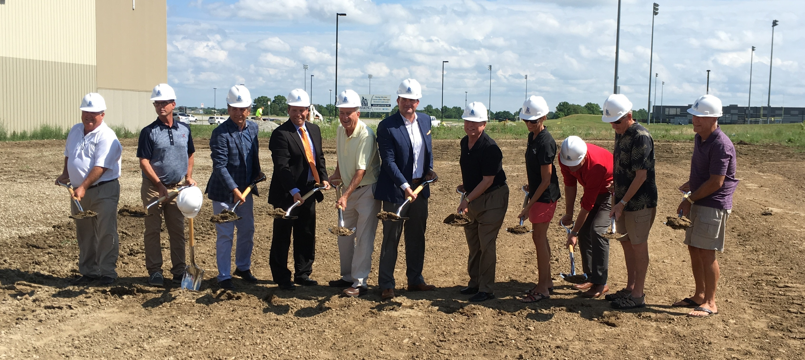 Photo for: PRESS RELEASE: Training Facility Breaks Ground at Grand Park
