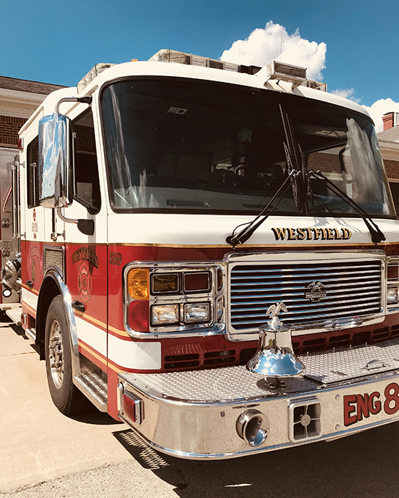 Photo for: PRESS RELEASE: Westfield Fire Department ISO Rating Improves