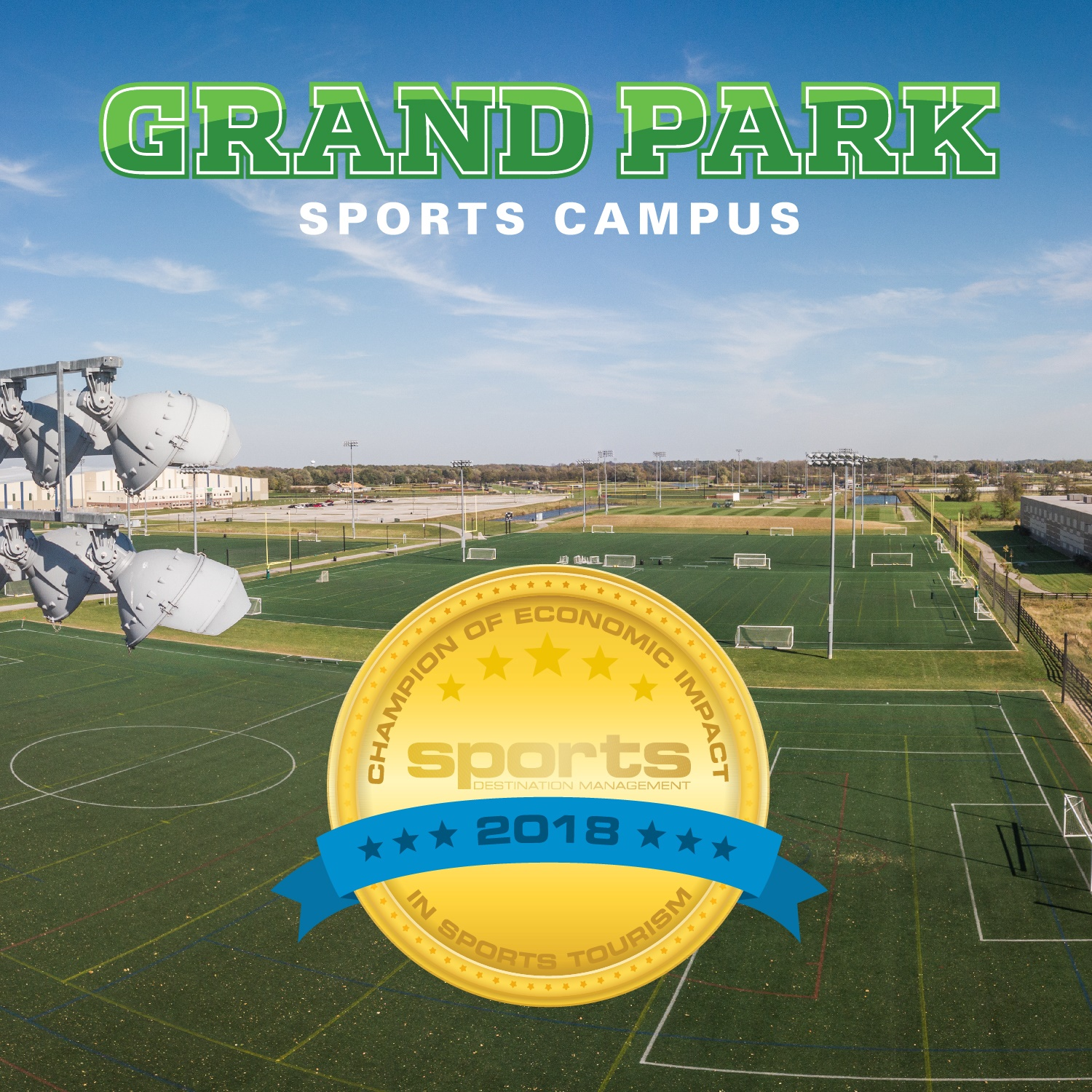 Photo for: PRESS RELEASE: Grand Park Event Receives Economic Impact Award in Sports Tourism