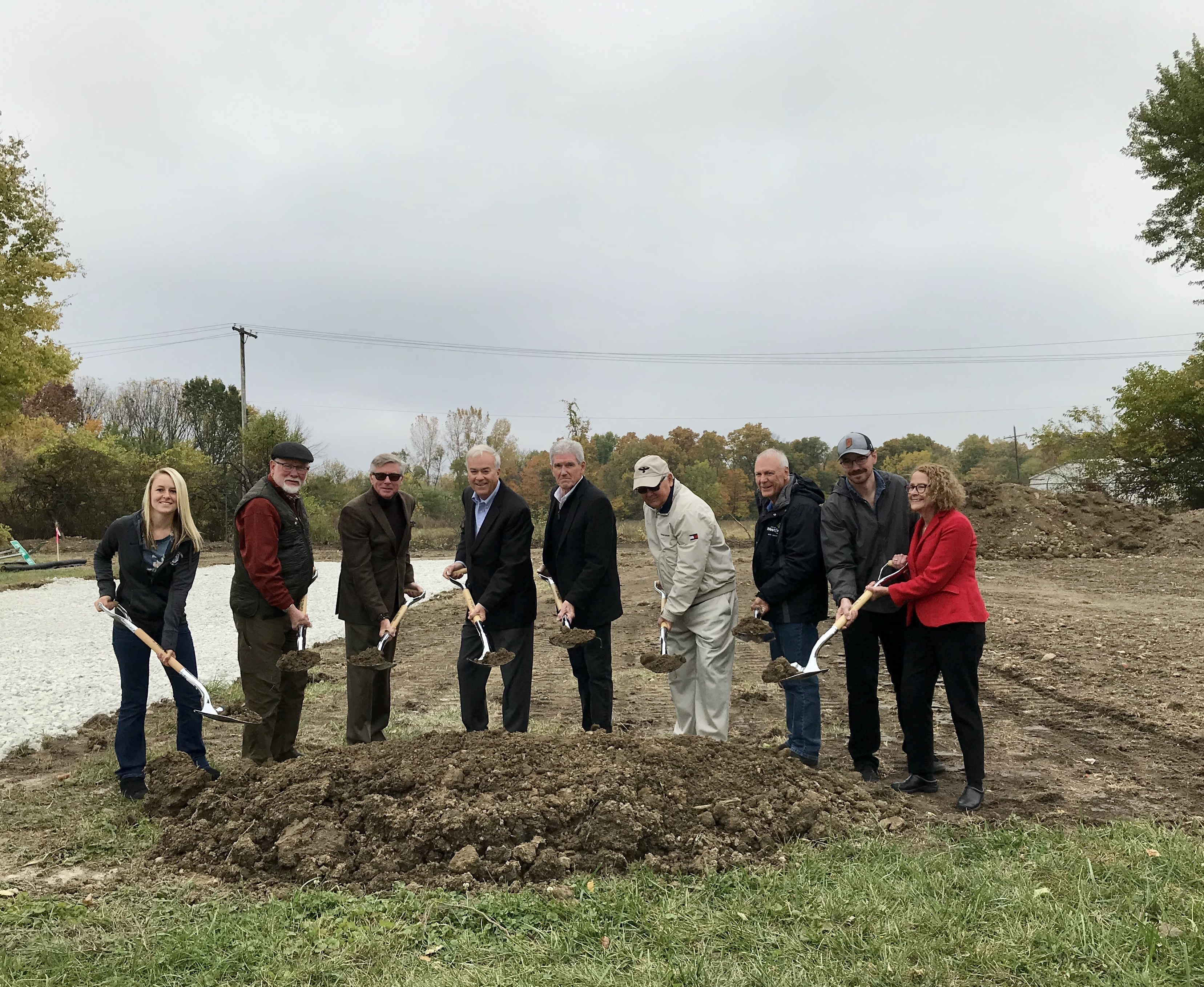 Photo for:  NEWS RELEASE: City Breaks Ground on New Road