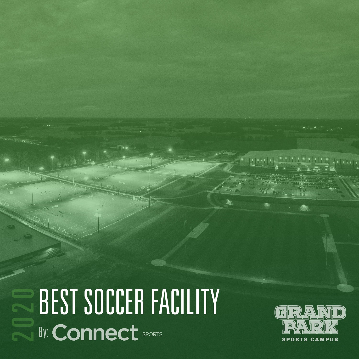 """Photo for: NEWS RELEASE: Grand Park Recognized as """"Best Soccer Facility"""" in 2020 by Connect Sports"""