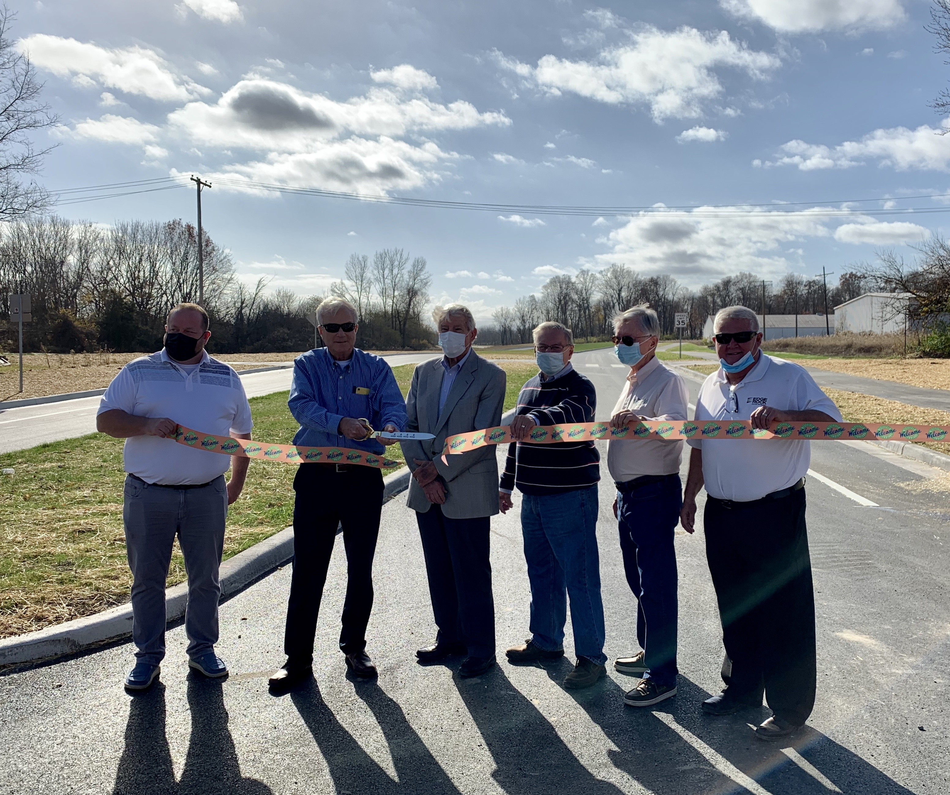 Photo for: NEWS RELEASE: City of Westfield Opens New Road to Improve Connectivity